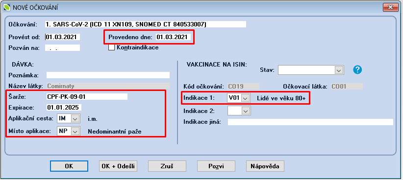 20210301 ISIN 05 nové očkování dávka