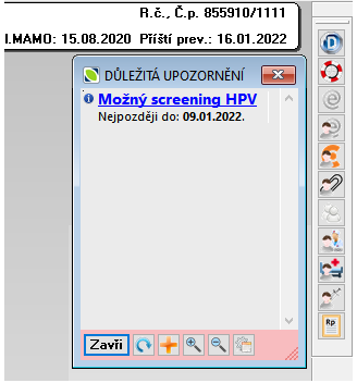 20210416 Gyn HPV test 01 důl_upozornění