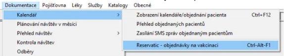 reservatic objednávky